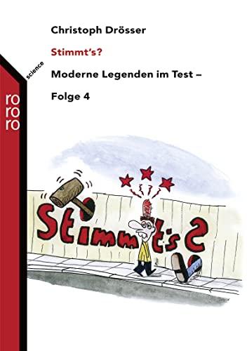 9783499620645: Stimmt's?: Moderne Legenden im Test - Folge 4