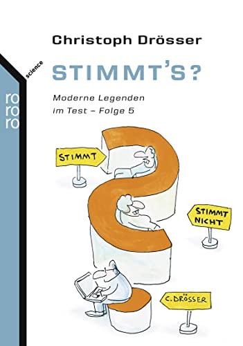9783499623103: Stimmt's?: Moderne Legenden im Test. Folge 5
