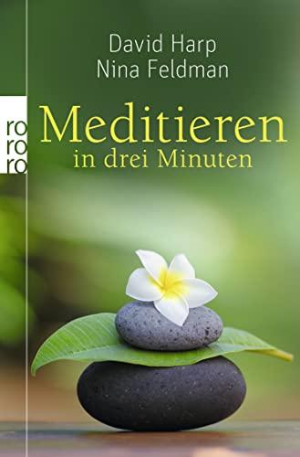 9783499629785: Meditieren in drei Minuten: Die Gefühle verstehen und das Leben meistern