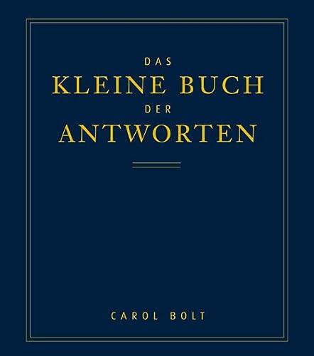 9783502120629: Das kleine Buch der Antworten.