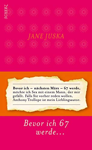 Bevor ich - nächsten März - 67: Juska, Jane