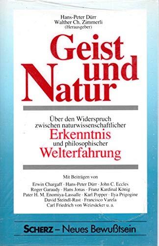 Geist und Natur: Über den Widerspruch zwischen: Zimmerli, Walther Ch.