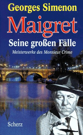 9783502196709: Maigret Seine Großen Fälle