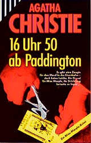16 Uhr 50 ab Paddington: Christie Agatha: