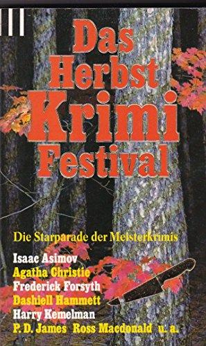 Das Herbst Krimi Festival - Asimov, Isaac / Agatha Christie / Frederick Forsyth u. a.