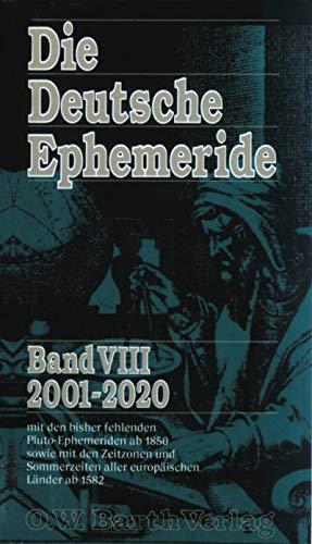 9783502688082: Die Deutsche Ephemeride, Bd.8, 2001-2020
