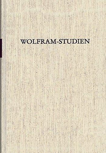 Wolfram-Studien I: Werner Schröder
