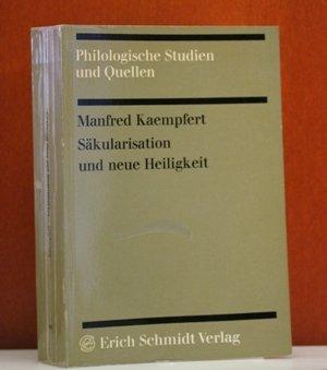 SÄKULARISATION UND DIE NEUE HEILIGKEIT Religion und religionsbezogene Sprache bei Friedrich ...