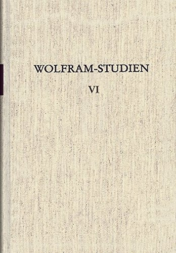 Wolfram-Studien VI: Werner Schröder