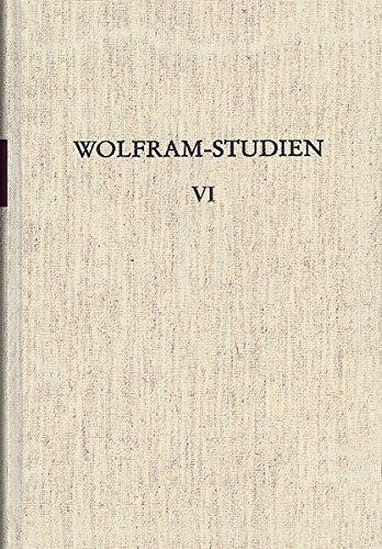 Wolfram-Studien VI: Werner Schr�der