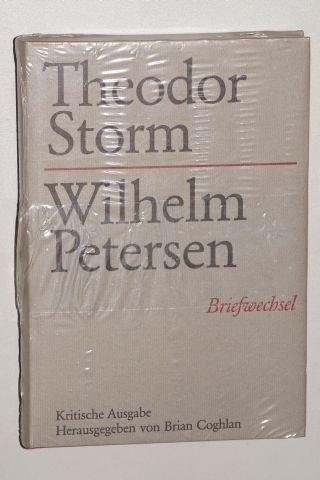 Theodor Storm, Wilhelm Petersen: Briefwechsel (German Edition) (9783503022229) by Theodor Storm