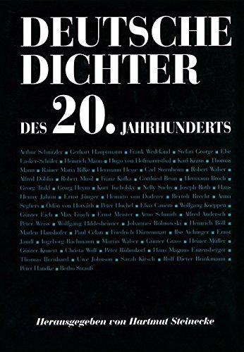 9783503030736: Deutsche Dichter des 20. Jahrhunderts (German Edition)
