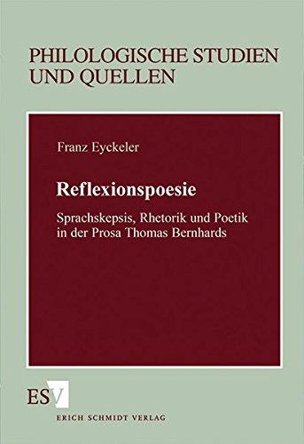 Reflexionspoesie: Franz Eyckeler