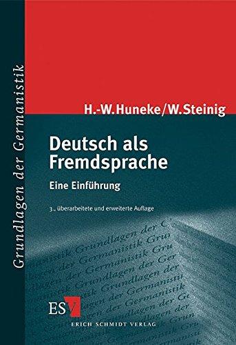 9783503061358: Deutsch als Fremdsprache.