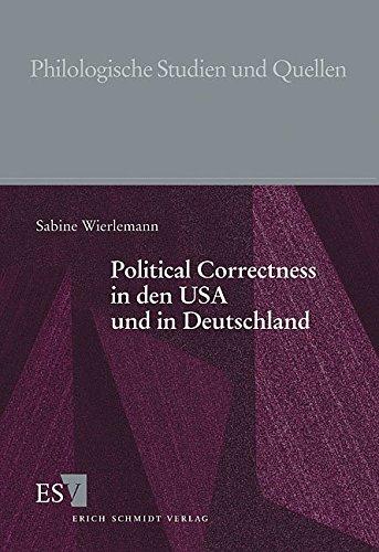 Political Correctness in den USA und in Deutschland: Sabine Wierlemann