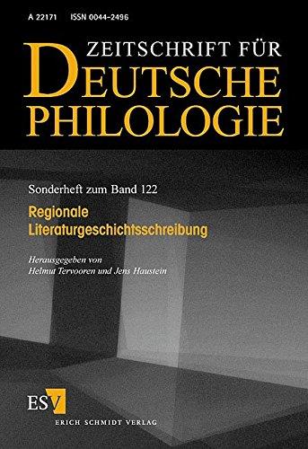 Regionale Literaturgeschichtsschreibung: Helmut Tervooren