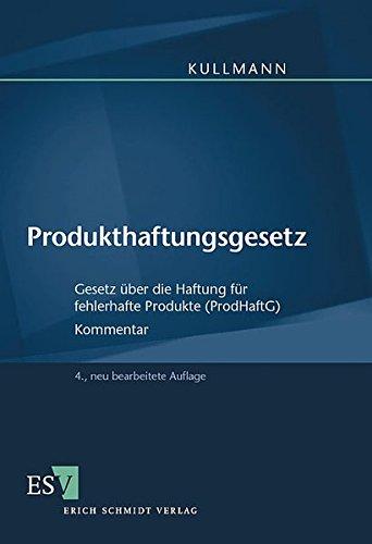 9783503078066: Produkthaftungsgesetz. by