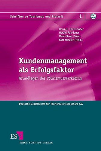 9783503078189: Kundenmanagement als Erfolgsfaktor: Grundlagen des Tourismusmarketing