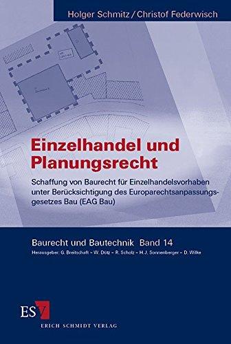 Einzelhandel und Planungsrecht: Holger Schmitz