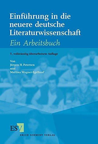 9783503079599: Einführung in die neuere deutsche Literaturwissenschaft