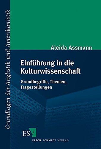 9783503079773: Einführung in die Kulturwissenschaft: Grundbegriffe, Themen, Fragestellungen