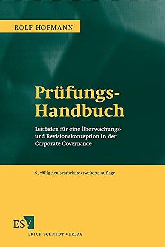 Prüfungs-Handbuch: Rolf Hofmann