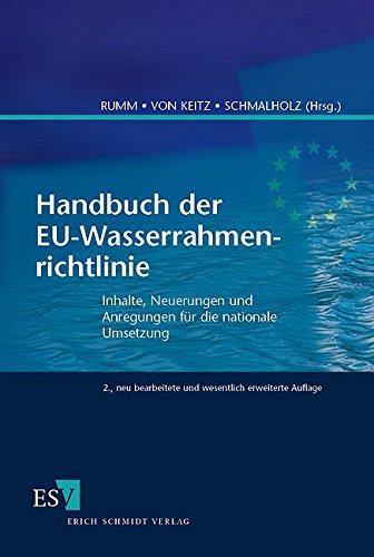Handbuch der EU-Wasserrahmenrichtlinie: Peter Rumm