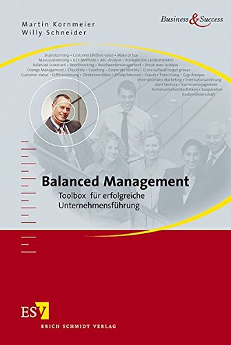 9783503093366: Balanced Management