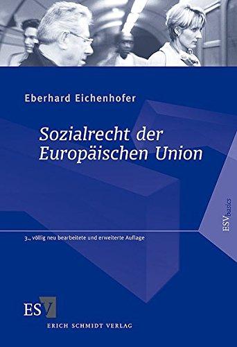 9783503093489: Sozialrecht der Europäischen Union