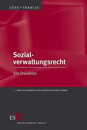 9783503093717: Sozialverwaltungsrecht: Ein Grundriss