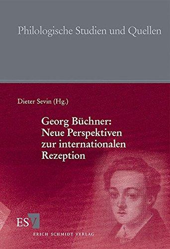 9783503098088: Georg Büchner: Neue Perspektiven zur internationalen Rezeption