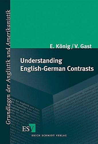 9783503098194: Understanding German-English Contrasts