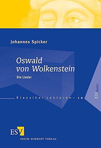 9783503098262: Oswald von Wolkenstein