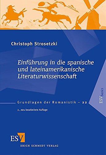 9783503098972: Einf�hrung in die spanische und lateinamerikanische Literaturwissenschaft
