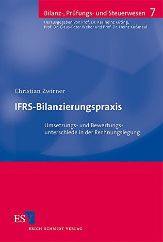 IFRS-Bilanzierungspraxis: Christian Zwirner