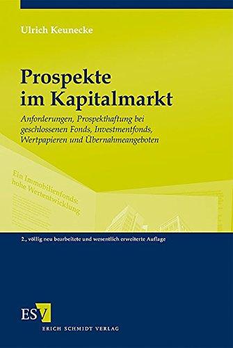 Prospekte im Kapitalmarkt: Ulrich Keunecke