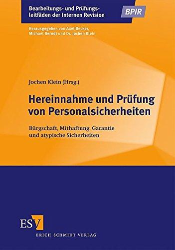 Hereinnahme und Prüfung von Personalsicherheiten: Jochen Klein