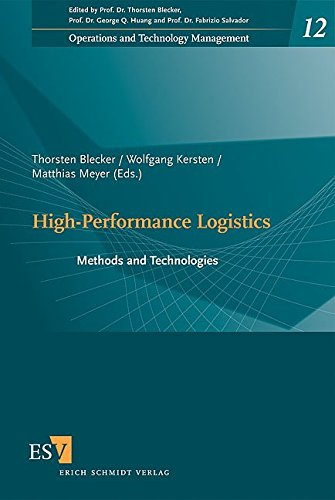9783503120482: High-Performance Logistics: Methods and Technologies