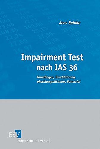 Impairment Test nach IAS 36: Jens Reinke