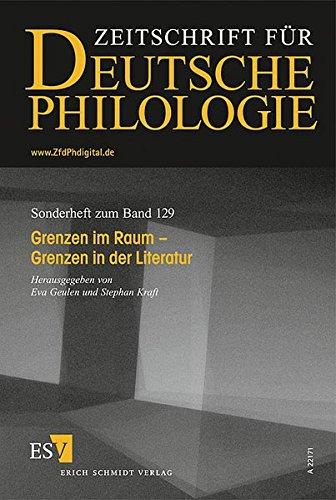 Grenzen im Raum - Grenzen in der Literatur: Eva Geulen