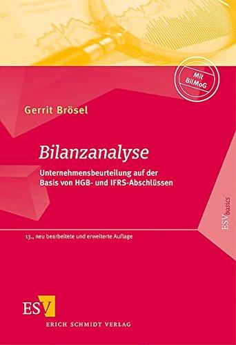 9783503124480: Bilanzanalyse: Unternehmensbeurteilung auf der Basis von HGB- und IFRS-Abschlüssen