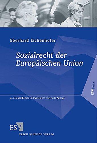 9783503124824: Sozialrecht der Europäischen Union