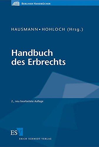 Handbuch des Erbrechts: Rainer Hausmann