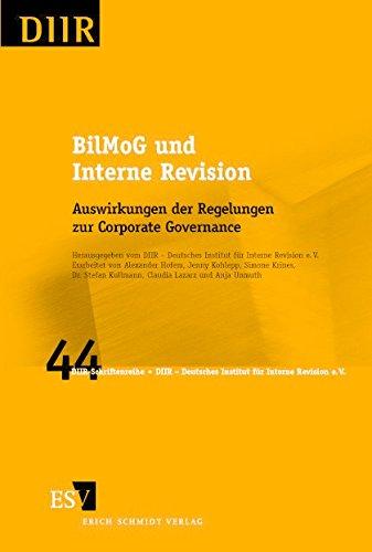 BilMoG und Interne Revision - Alexander Hofem