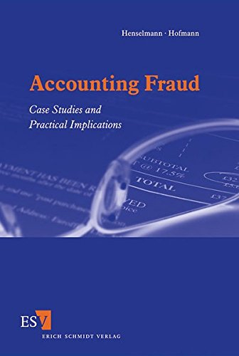 9783503129171: Accounting Fraud: Case Studies and Practical Implications
