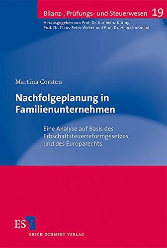 Nachfolgeplanung in Familienunternehmen: Martina Corsten