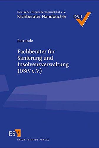 9783503129683: Fachberater für Sanierung und Insolvenzverwaltung (DStV e. V.)