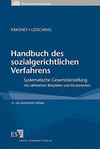 Handbuch des sozialgerichtlichen Verfahrens: Otto Ernst Krasney