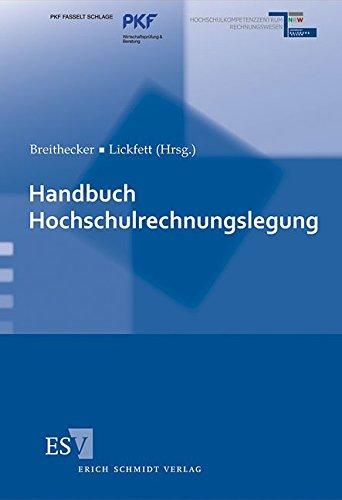Handbuch Hochschulrechnungslegung: Volker Breithecker