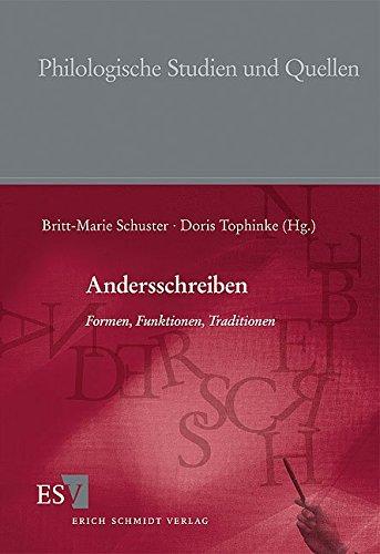 Andersschreiben: Britt-Marie Schuster